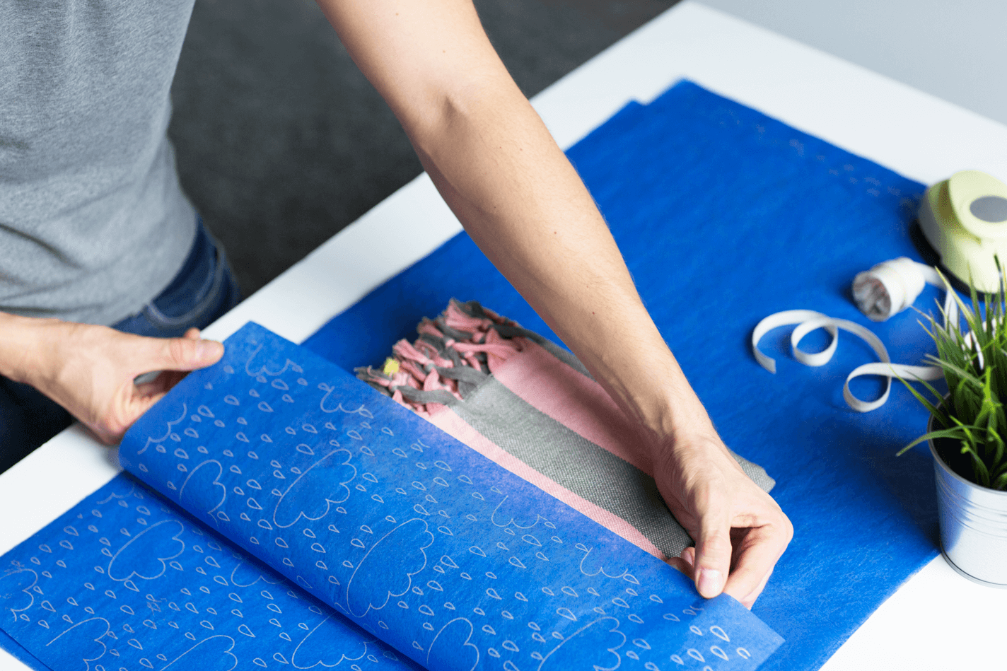 Protege tus productos con papel de seda