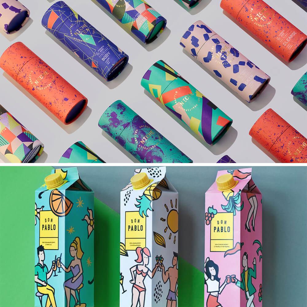lattine e cartoni packagin