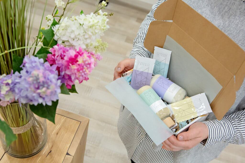 imballaggi di Eco Beauty Wellness