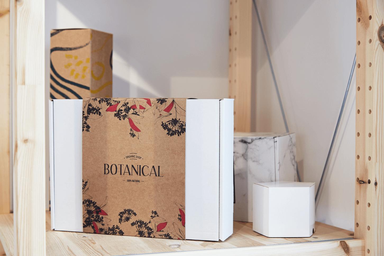 Fajas de cartón para cajas postales