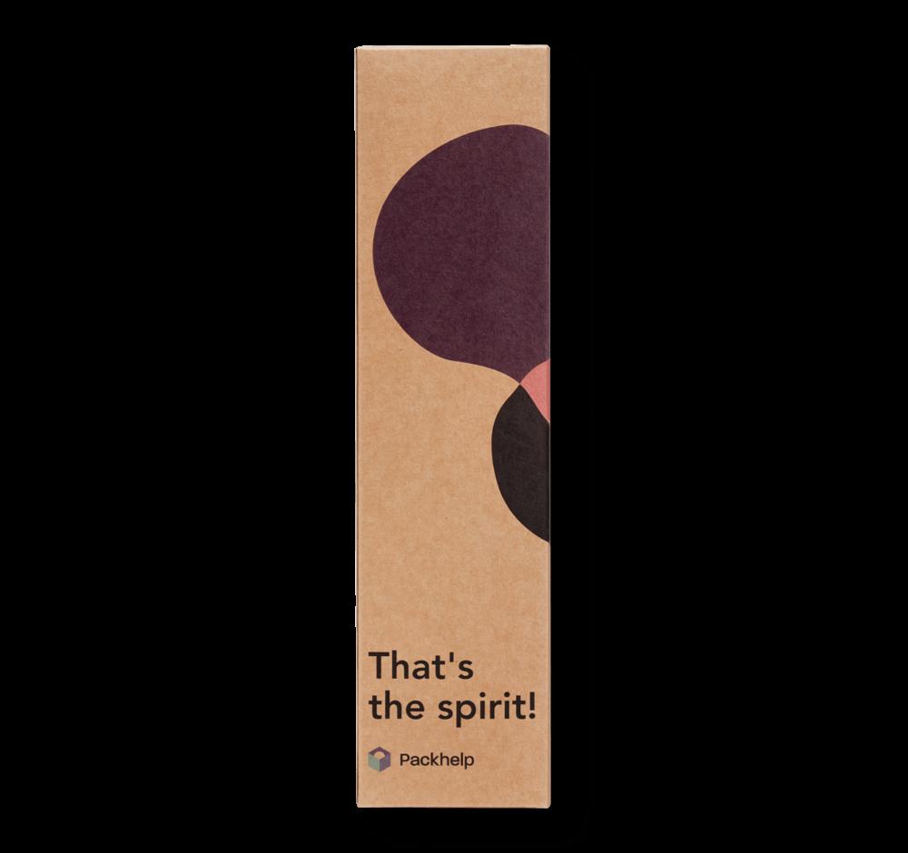 Pudełko na wino z nadrukiem - opakowania z nadrukiem dla firm - zapakuj.to