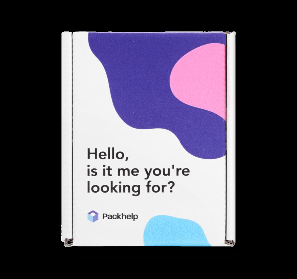 Caja postal Eco Color - paqueteria personalizada para empresas - Packhelp