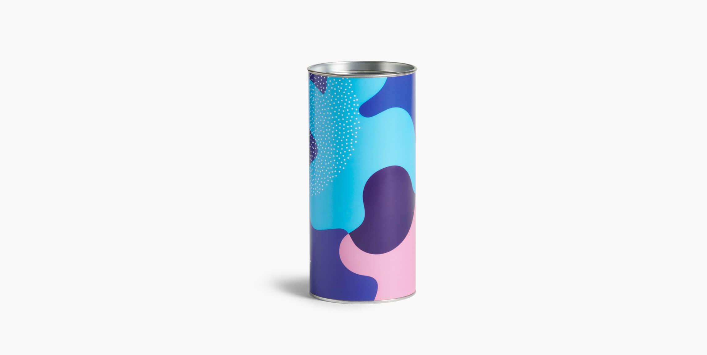 packaging cilíndrico para hacer envíos online