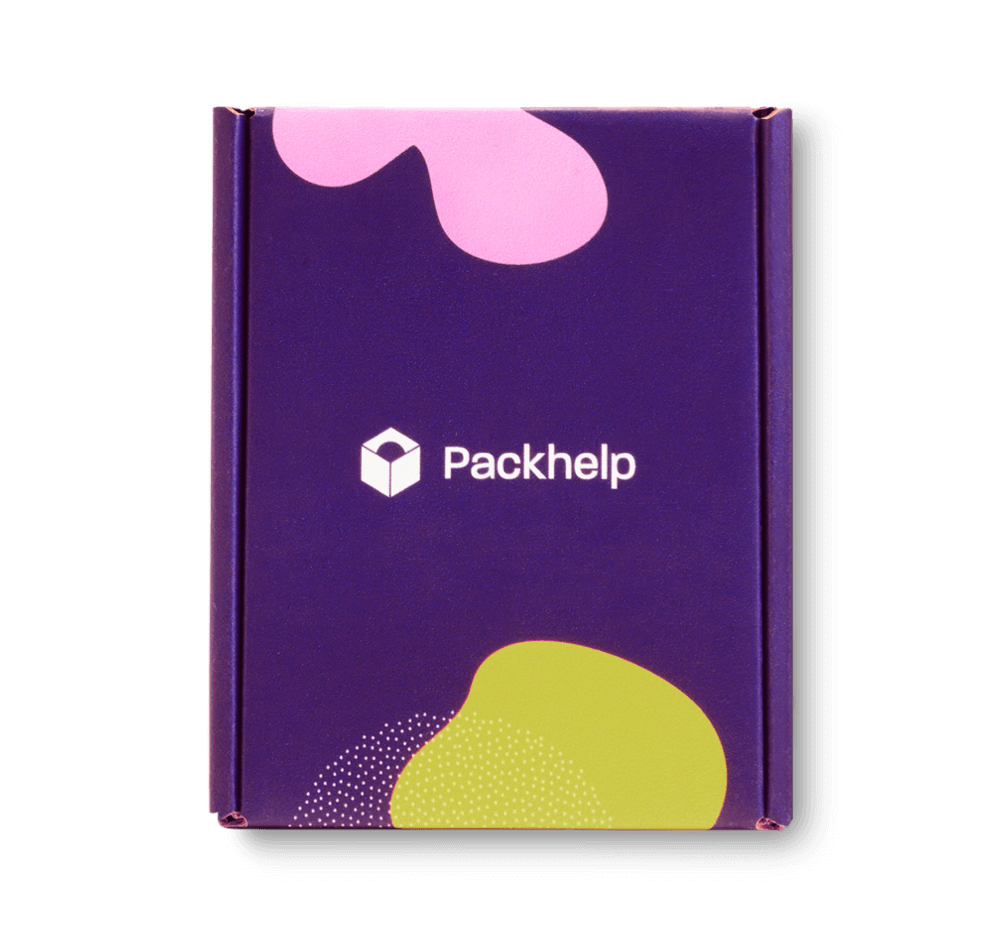Caja postal diseñada para realizar envíos