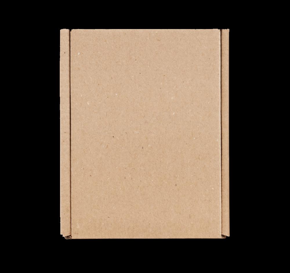Caja postal sin impresión - paqueteria personalizada para empresas - Packhelp