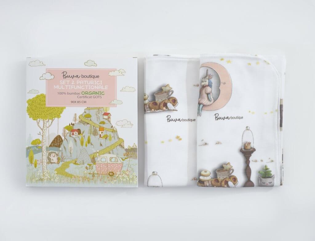 Prodotti per bambini Buva Boutique x packhelp