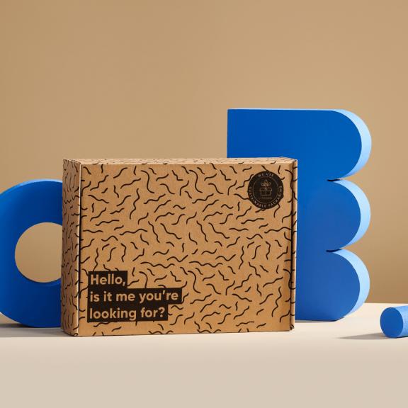 pudełko kartonowe z gotowym nadrukiem