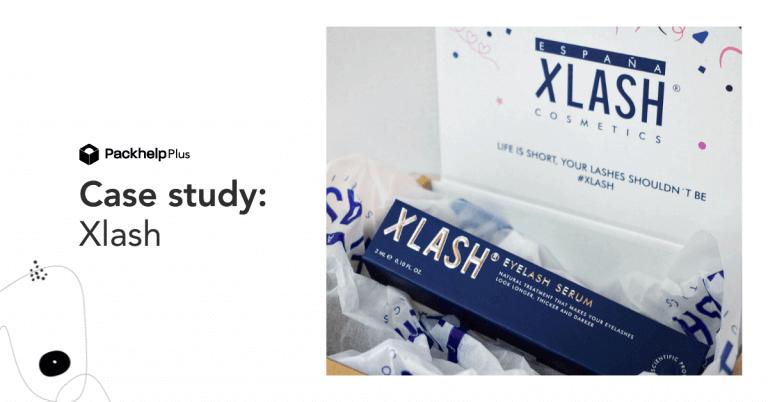 Hiszpańska marka z branży beauty Xlash zredukowała roczne wydatki na opakowania o 16% dzięki ekspertom Packhelp Plus