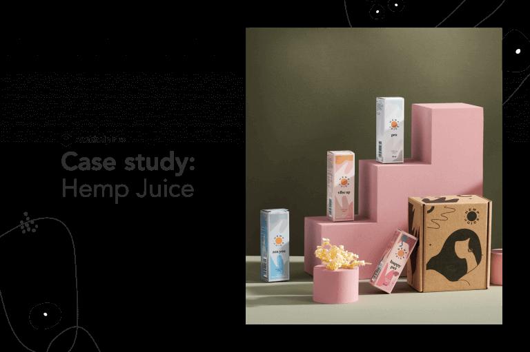 Jak Hemp Juice, polski producent olejków CBD,  zaoszczędził 25% na produkcji opakowań, dzięki Packhelp Plus
