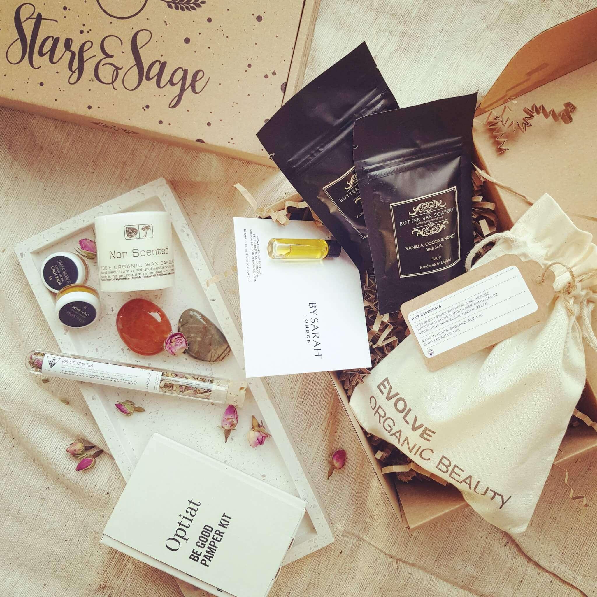 Stars & Sage förpackning