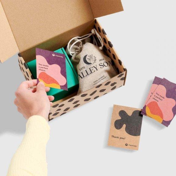 cutie preimprimata eco cu biletele de multumire