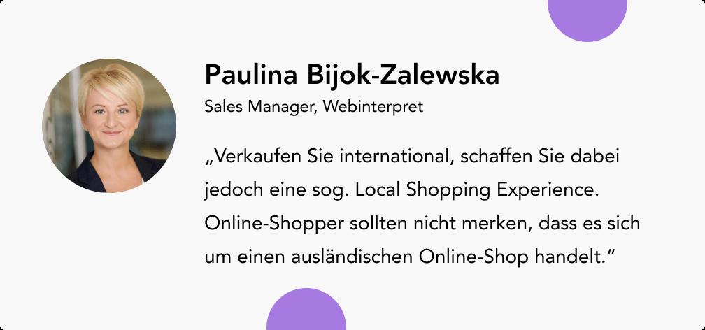 Paulina Bijok Zalewska Webinterpret