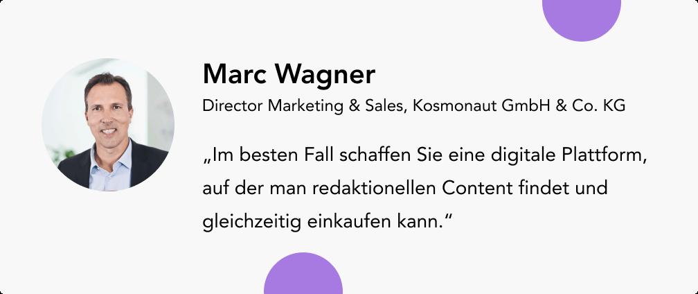 Marc Wagner Kosmonaut