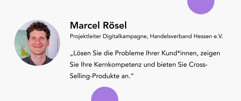 Marcel Rösel Handelsverband Hessen
